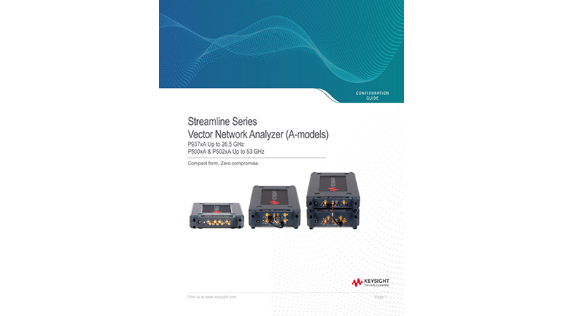 Streamline Series USB Vector Network Analyzer