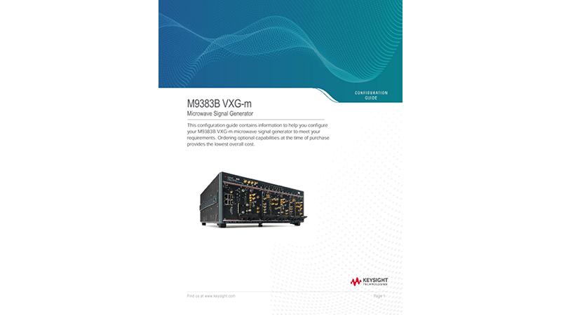 M9383B VXG-m Microwave Signal Generator