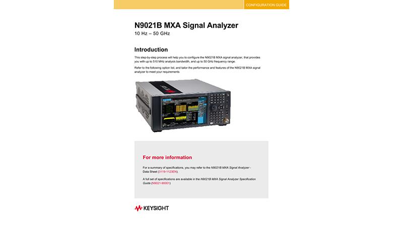 N9021B MXA Signal Analyzer