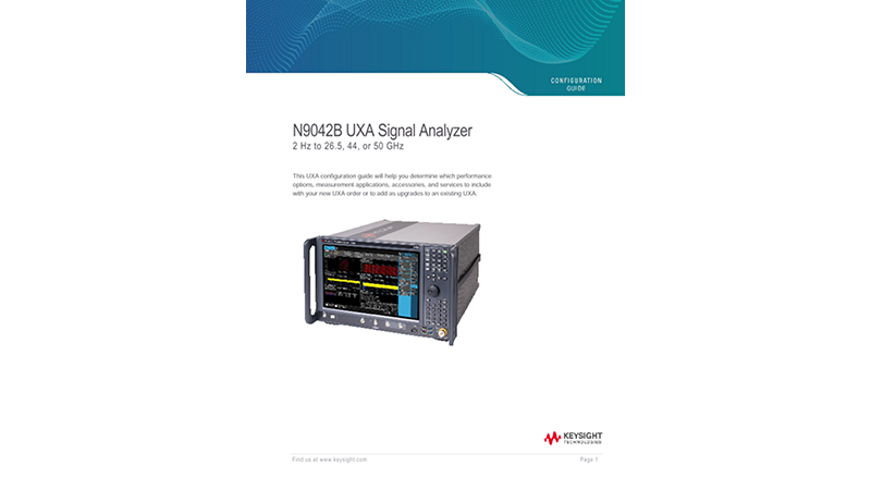 N9042B UXA Signal Analyzer
