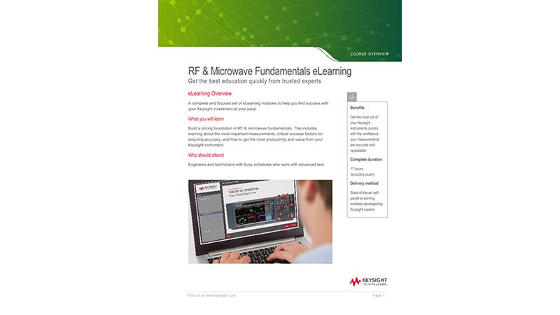 RF & Microwave Fundamentals eLearning