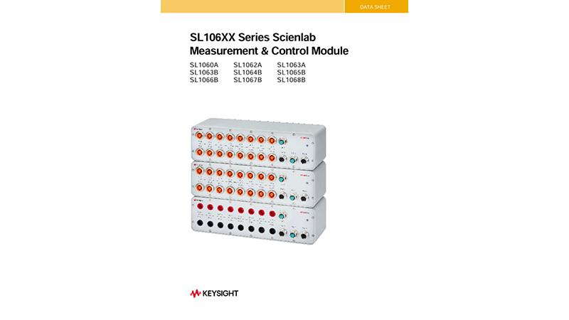 SL106XX Scienlab Measurement & Control Module