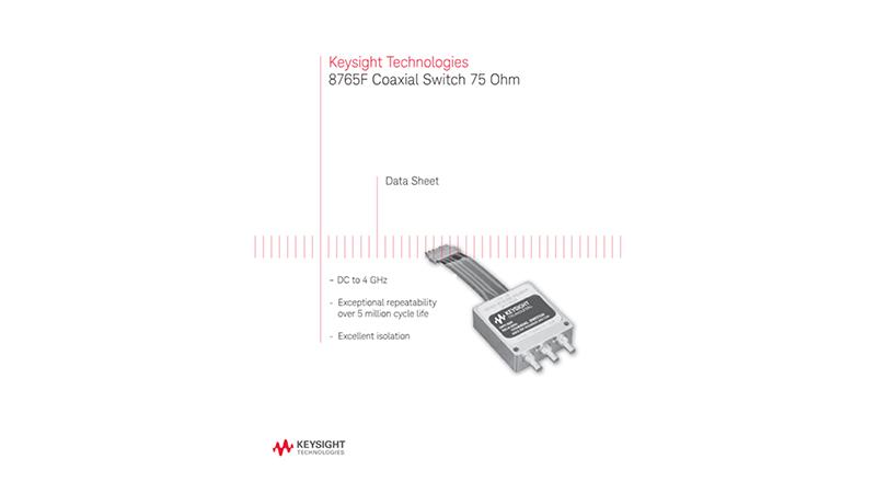 8765F Coaxial Switch 75 Ohm