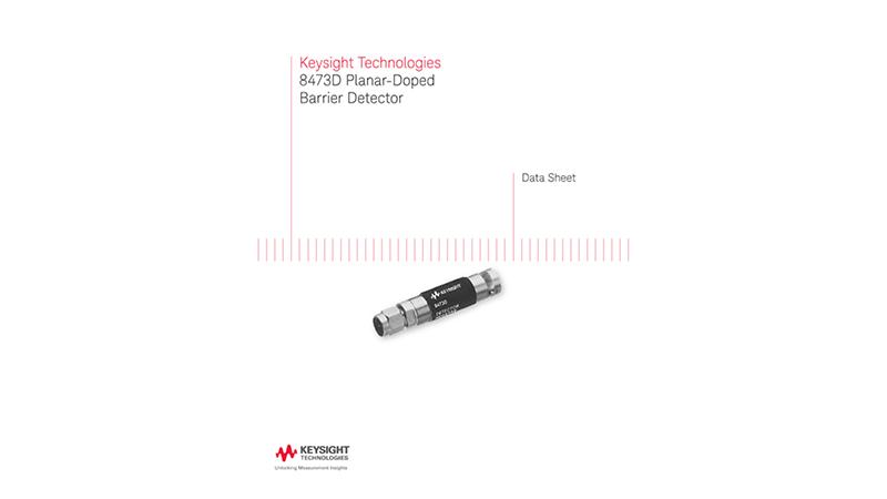 8473D Planar-Doped Barrier Detector