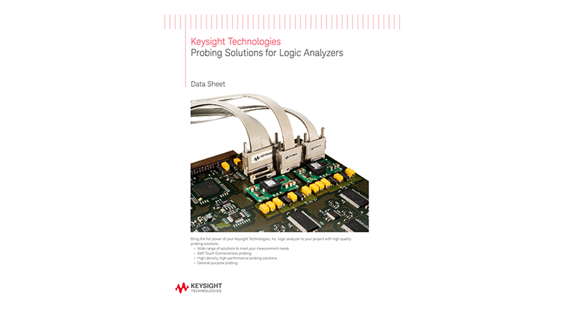 Probing Solutions for Logic Analyzers