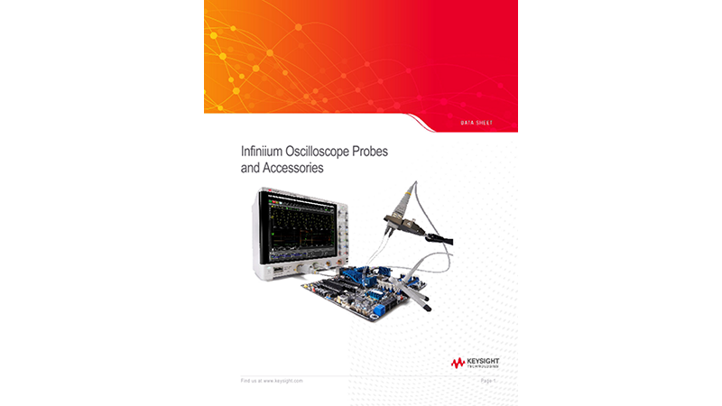Infiniium Oscilloscope Probes and Accessories