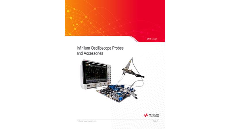 Infiniium Oscilloscope Probes and Accessories