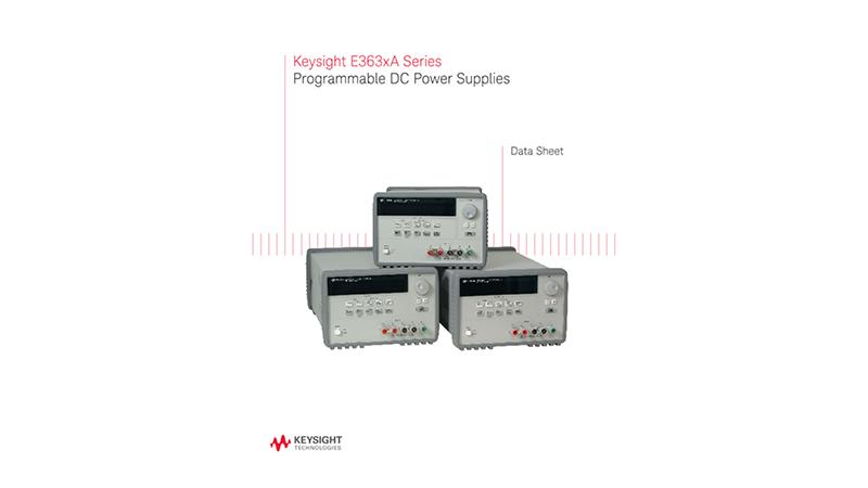 E363xA Series Programmable DC Power Supplies