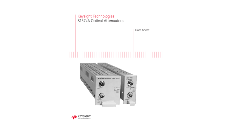 8157xA Optical Attenuators