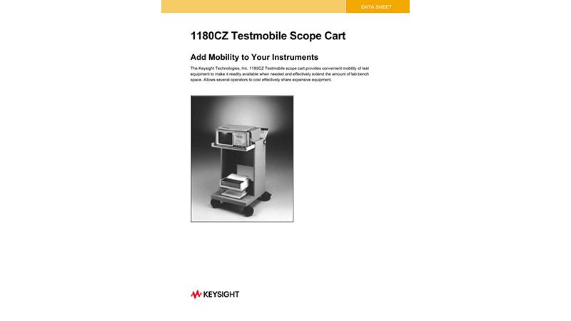 1180C Testmobile Scope Cart