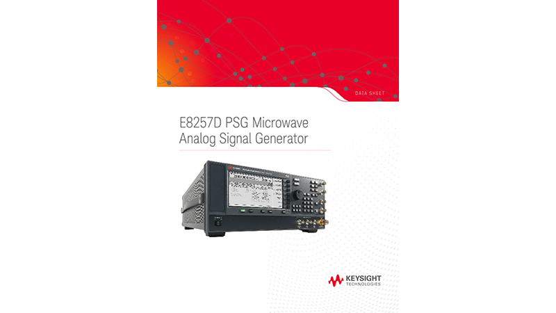 E8257D PSG Microwave Analog Signal Generator