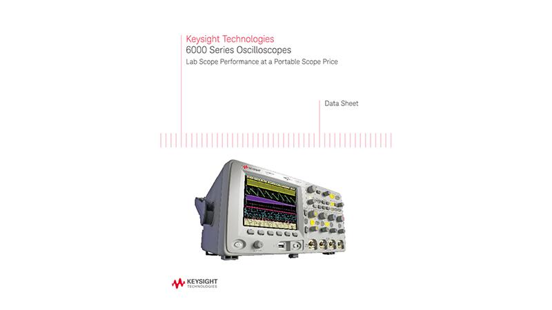 6000 Series Oscilloscopes