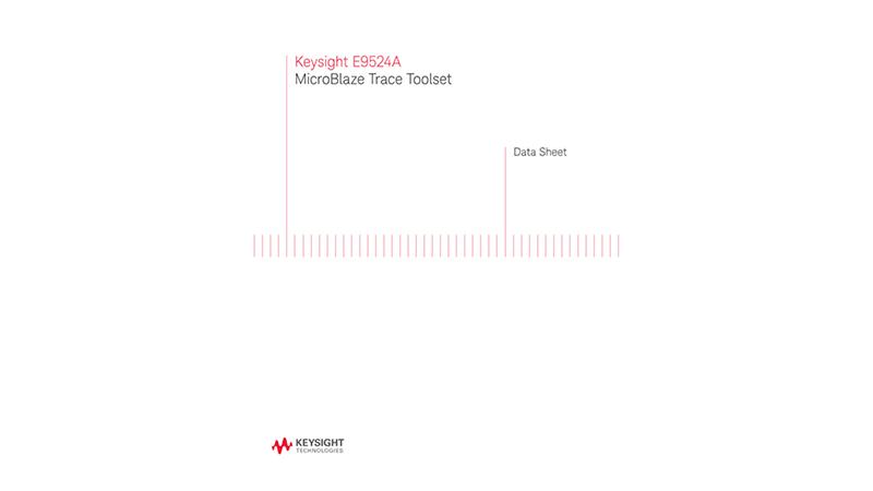 E9524A MicroBlaze Trace Toolset