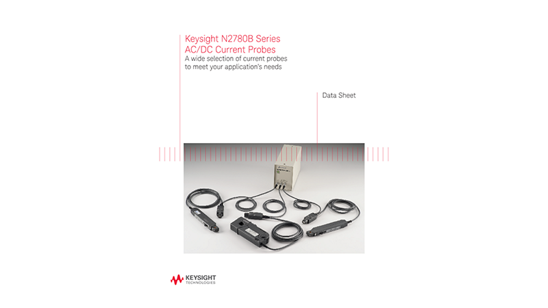 N2780B Series AC/DC Current Probes