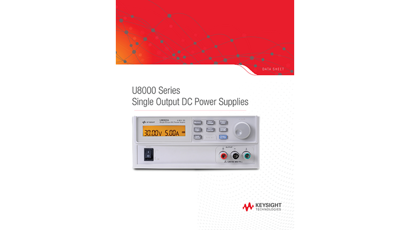U8000 Series Single Output DC Power Supplies
