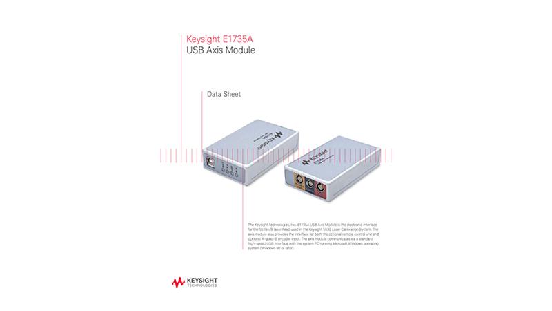 E1735A USB Axis Module