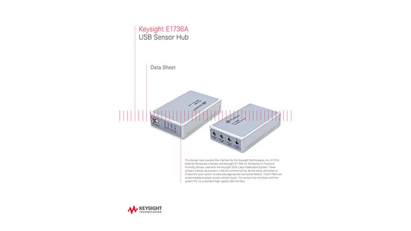E1736A USB Sensor Hub ─ Data Sheet