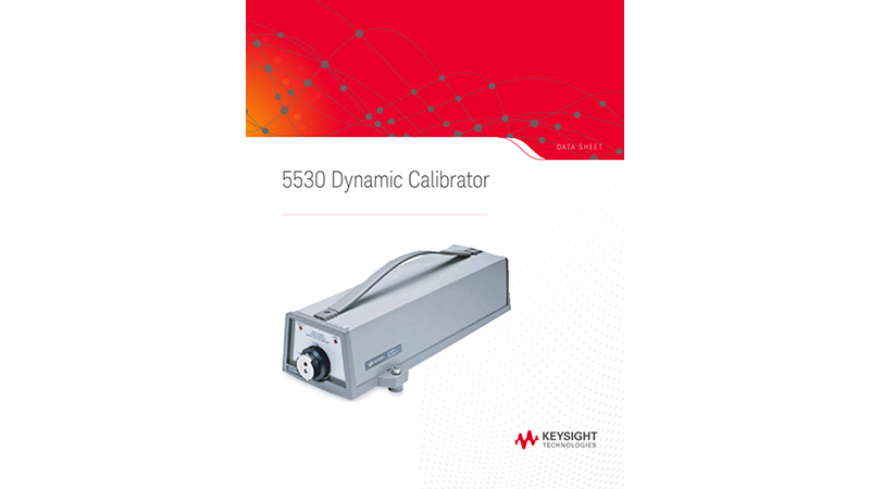 5530 Dynamic Calibrator