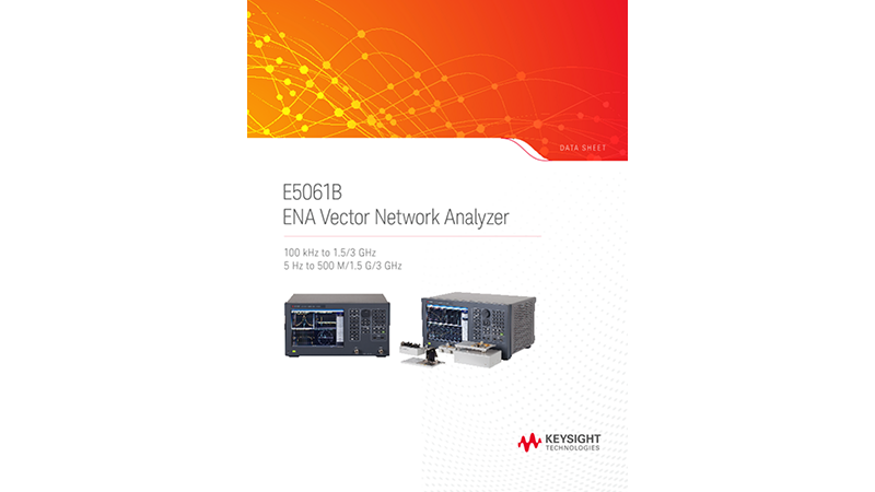 E5061B ENA Vector Network Analyzer