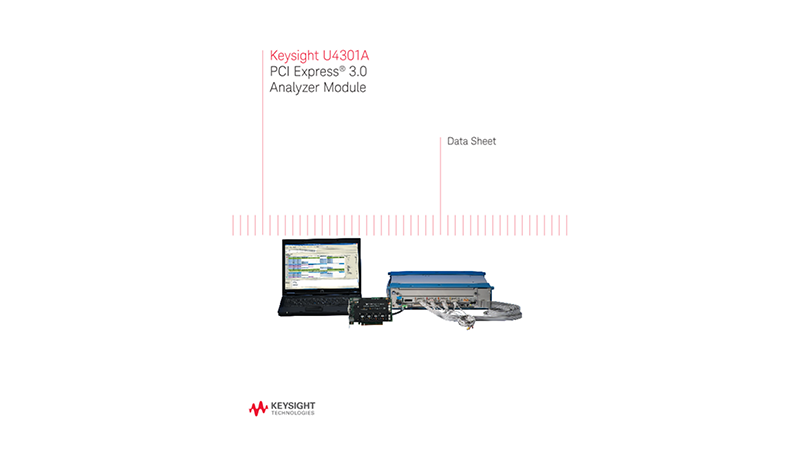 U4301A PCI Express® 3.0 Analyzer Module