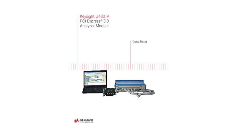 U4301A PCI Express? 3.0 Analyzer Module