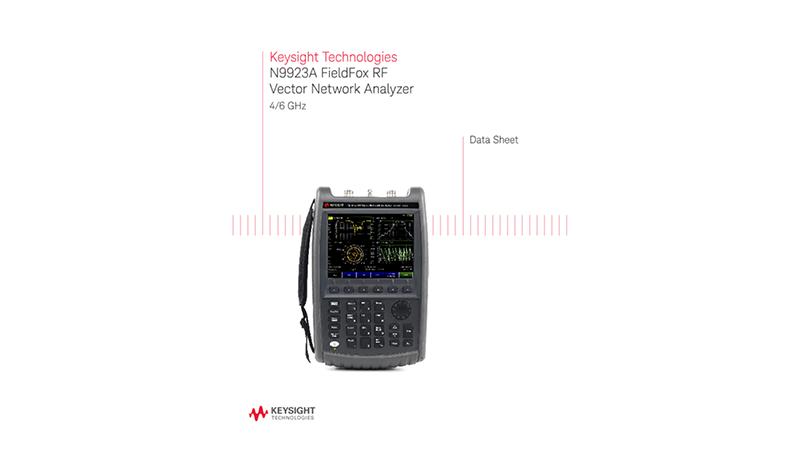 N9923A FieldFox RF Vector Network Analyzer 4/6 GHz