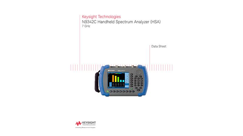 N9342C Handheld Spectrum Analyzer (HSA)
