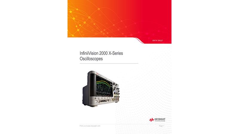 InfiniiVision 2000 X-Series Oscilloscopes