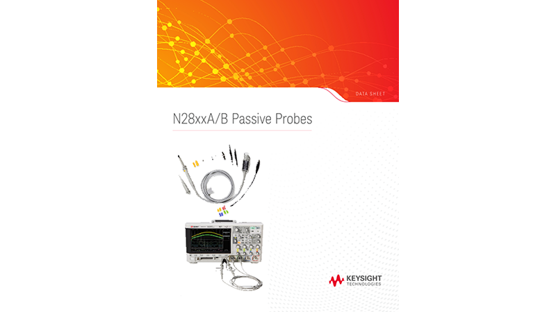 N28xxA/B Passive Probes