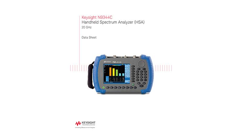 N9344C Handheld Spectrum Analyzer (HSA)