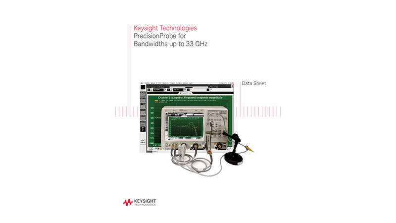 PrecisionProbe for Bandwidths up to 33 GHz