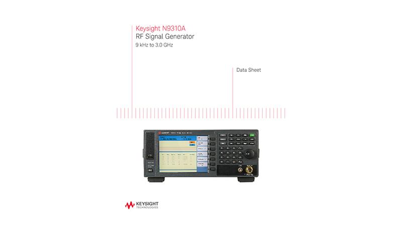 N9310A RF Signal Generator 9 kHz to 3.0 GHz