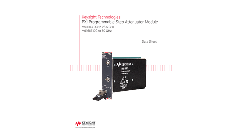 PXI Programmable Step Attenuator Module