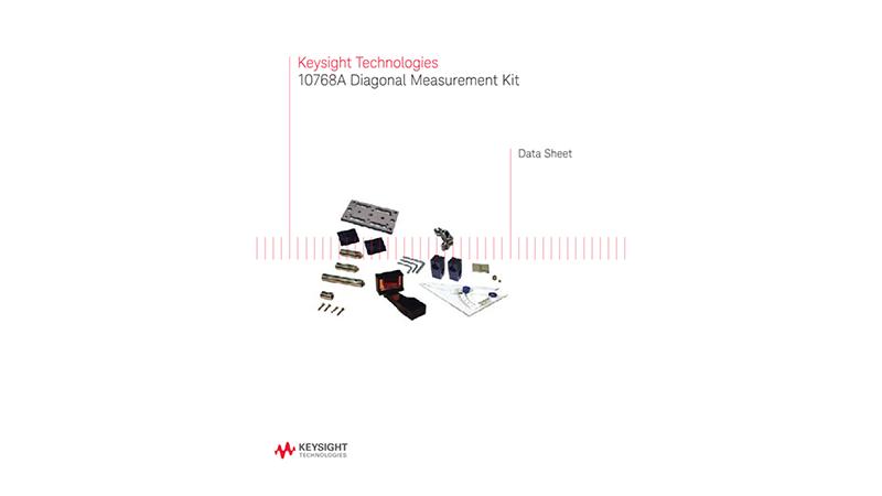 10768A Diagonal Measurement Kit