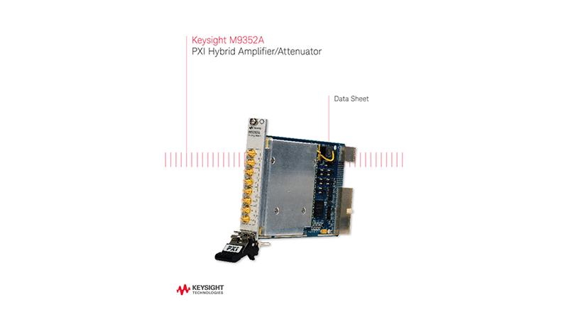 M9352A PXI Hybrid Amplifier/Attenuator
