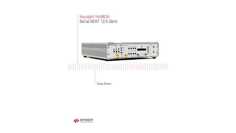 N4962A Serial BERT 12.5 Gb/s