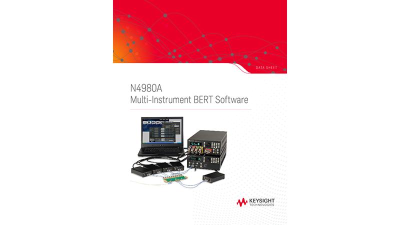 N4980A Multi-Instrument BERT Software