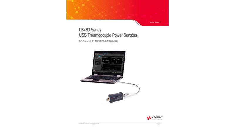 U8480 Series USB Thermocouple Power Sensors