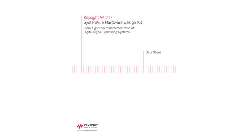 W1717 SystemVue Hardware Design Kit