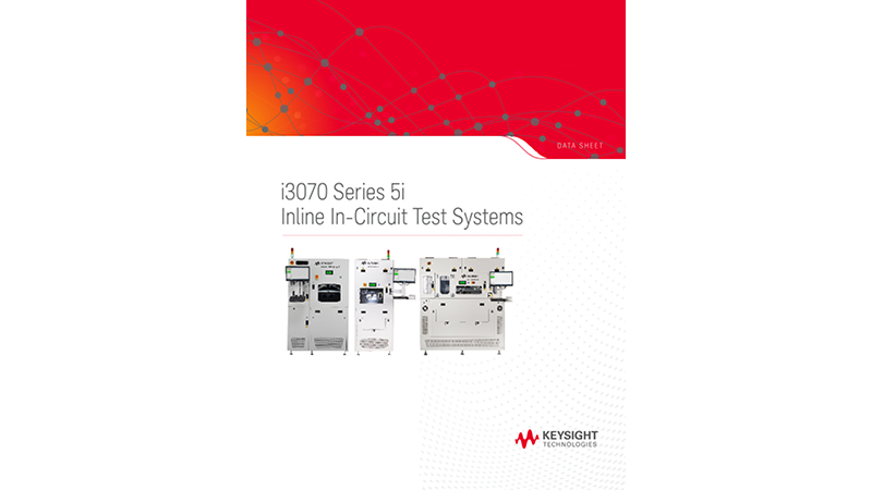 i3070 Series 5i Inline In-Circuit Test System