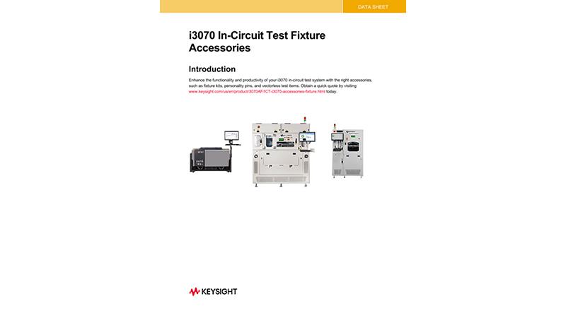i3070 In-Circuit Test Fixture Accessories