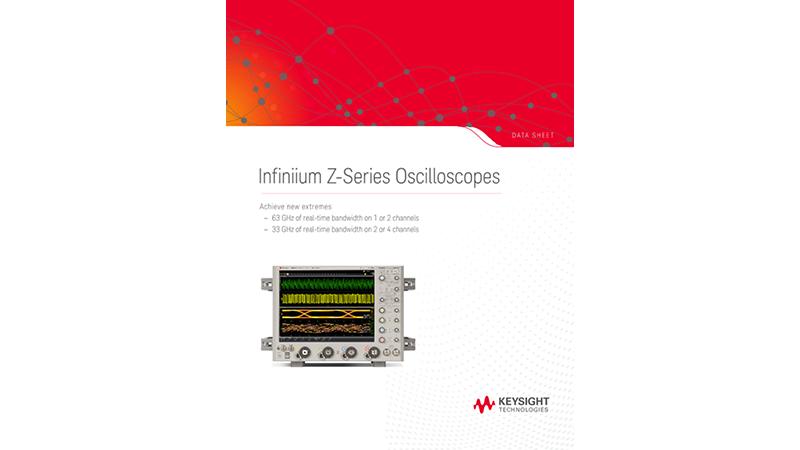Infiniium Z-Series Oscilloscopes