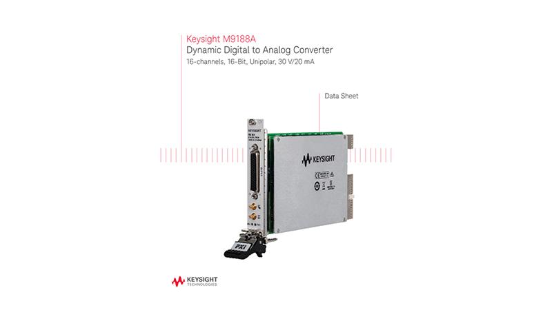 M9188A Dynamic Digital to Analog Converter