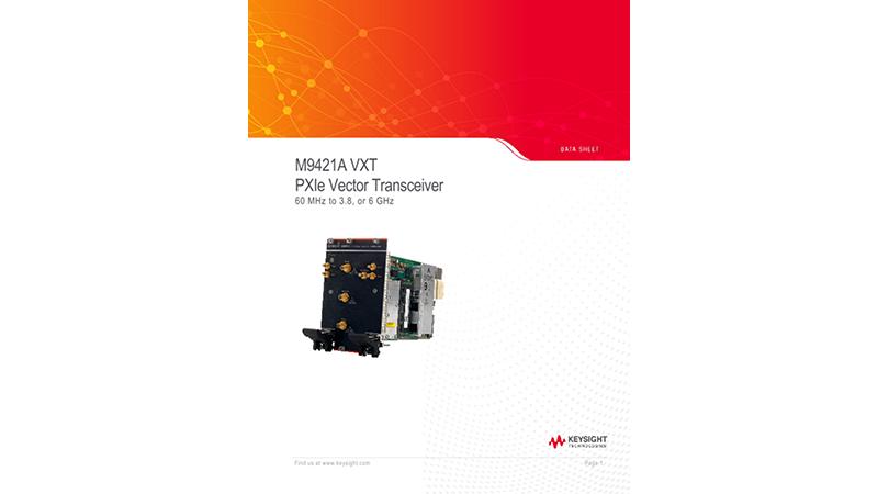 M9421A VXT PXIe Vector Transceiver