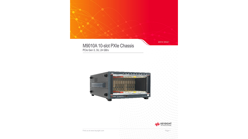 M9010A PXIe 10-slot Chassis