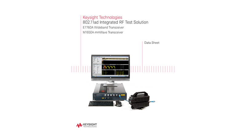 802.11ad Integrated RF Test Solution
