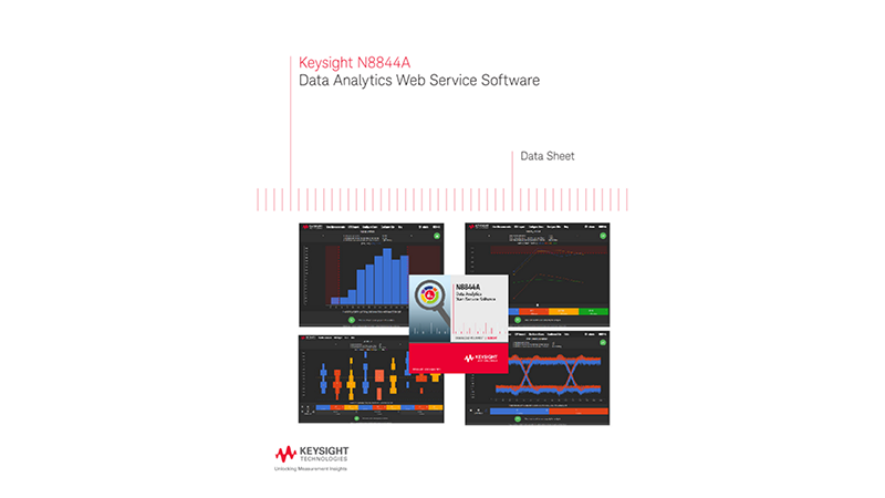 N8844A Data Analytics Web Service Software