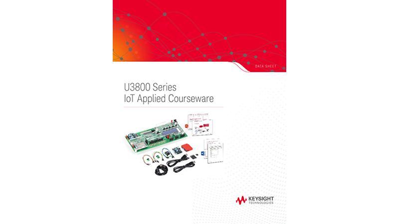 U3800 Series IoT Applied Courseware