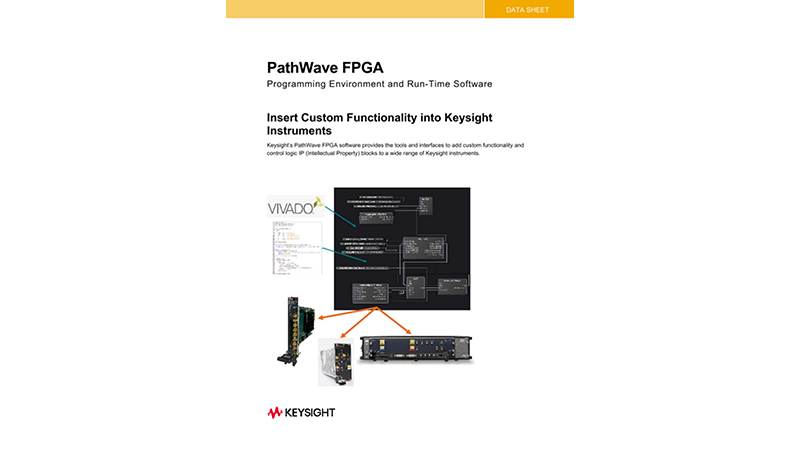PathWave FPGA Programming Environment