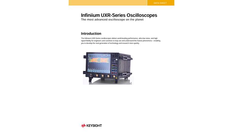 Infiniium UXR-Series Oscilloscopes